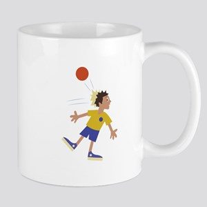Dodgeball Kid Mugs